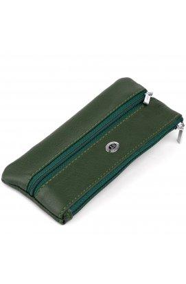 Ключница-кошелек с кармашком унисекс ST Leather 19348