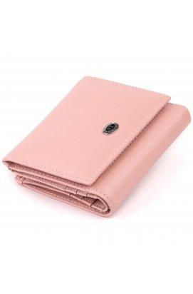 Компактный кошелек женский ST Leather 19258 Розовый