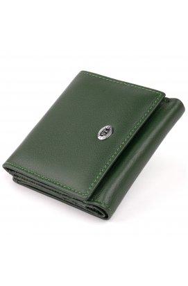 Компактный кошелек женский ST Leather 19262 Зеленый