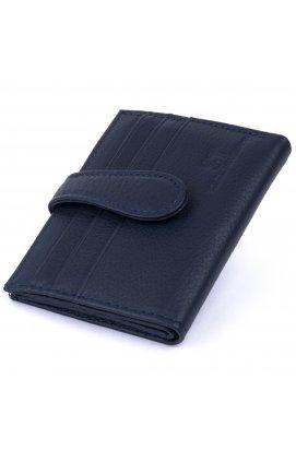 Кошелек-визитница ST Leather 19210 Темно-синий