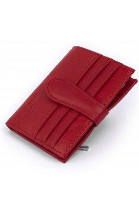 Кошелек-визитница ST Leather 19211 Красный