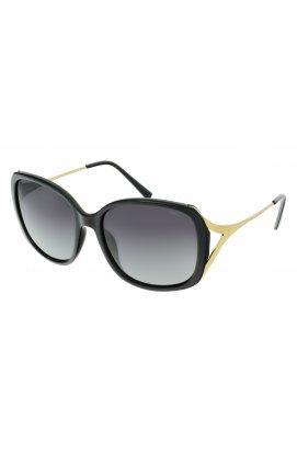 Женские солнцезащитные очки INVU B2116A - квадратные, Цвет линз - серый;зеленый