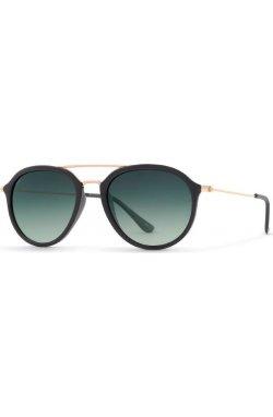 Солнцезащитные очки INVU T1901A - авиаторы, Цвет линз - серый;зеленый