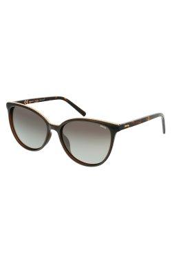 Женские солнцезащитные очки INVU Z2106B - бабочки, Цвет линз - коричневый