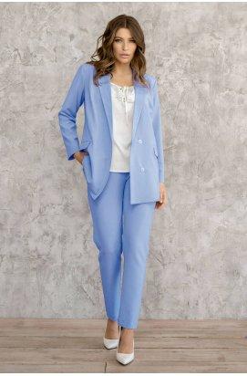 Пиджак 3003-PW07 - Голубой