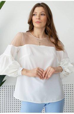 Блуза 3113-c01 - Молочный
