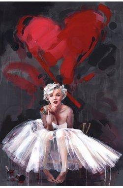 Постер Monroe - James Paterson (Paint) - wws-545