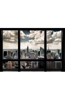 Постер New York Window - wws-6014