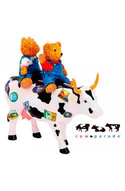 Коллекционная статуэтка корова Teddy Bears on the Moove - wws-2072