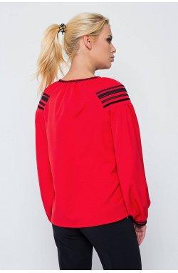 Блуза 207-PW02 - Красный