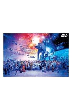 """Постер """"Star Wars (Universe)"""" 91,5 х 61 см - wws-8858"""