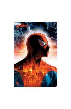 """Постер """"Человек-паук (Защитник города)"""" 61 х 91,5 см - wws-8862"""