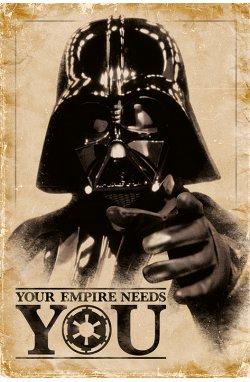 "Постер ""Star Wars (Your Empire Needs You) / Звёздные войны"" - wws-5941"