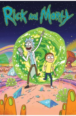 """Постер """"Rick and Morty (Portal)"""" - wws-5950"""