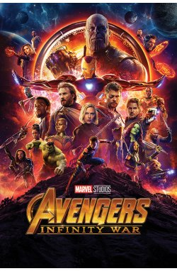 "Постер ""Avengers: Infinity War (One Sheet)"" - wws-5980"