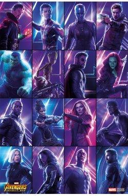 """Постер """"Avengers: Infinity War (Heroes)"""" - wws-5981"""