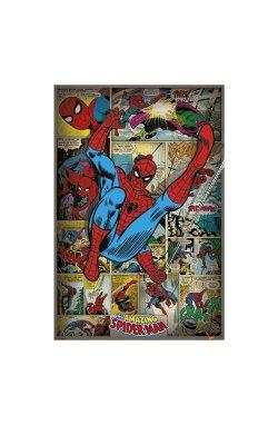 """Постер """"Marvel Comics (Spider-Man Retro)"""" 61 х 91,5 см - wws-8894"""