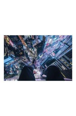 """Постер """"On The Edge Of Times Square"""" 91,5 х 61 см - wws-8898"""