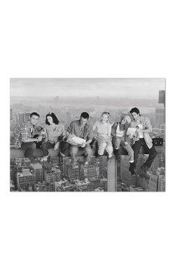 """Постер """"Friends (Skyscraper)"""" 91,5 х 61 см - wws-8899"""