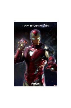"Постер ""Avengers: Endgame (I Am Iron Man)"" 61 х 91,5 см - wws-8900"