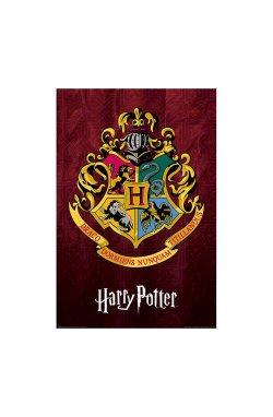 "Постер ""Harry Potter (Hogwarts School Crest)"" 61 х 91,5 см - wws-8903"