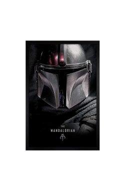 """Постер """"Star Wars: The Mandalorian (Dark)"""" 61 х 91,5 см - wws-8904"""