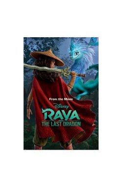 "Постер ""Raya and the Last Dragon (Warrior in the Wild)"" 61 х 91,5 см - wws-8906"