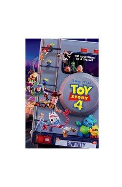 """Постер """"История игрушек 4"""" (Приключение на всю жизнь) 61 х 91,5 см - wws-8913"""