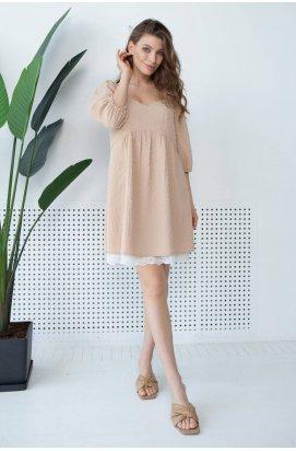 Платье 3144-c01 - Бежевий