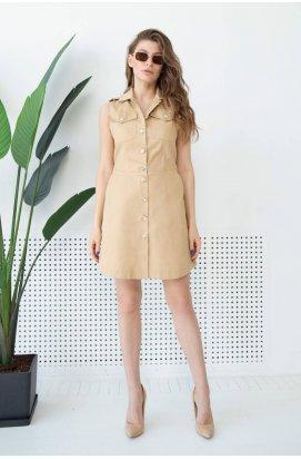 Платье 3143-c01 - Бежевый
