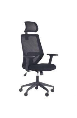 Кресло Lead Black HR сиденье Нест-01 черная/спинка Сетка SL-00 черная - AMF - 297895