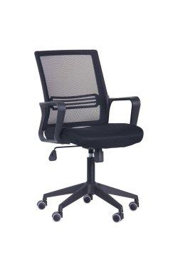 Кресло Джун сиденье Сетка черная/спинка Сетка черная - AMF - 377027