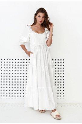 Платье 3153-c01 - Молоко