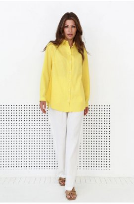 Рубашка 3156-PW01 - Желтый