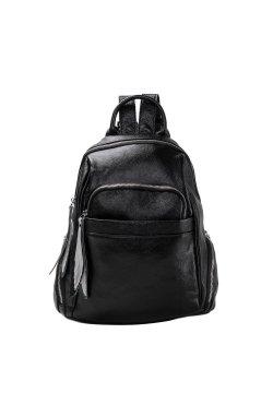 Женский рюкзак Olivia Leather NWBP27-7757A-BP - натуральная кожа, черный