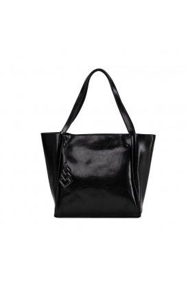 Женская сумка Grays GR-8813A - натуральная кожа, черный