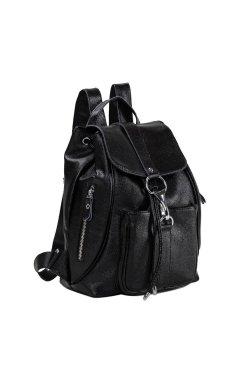 Рюкзак Olivia Leather NWBP27-5522A-BP - натуральная кожа, черный