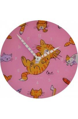"""Часы настенные """"Милые котики"""" ?30 см - wws-223"""