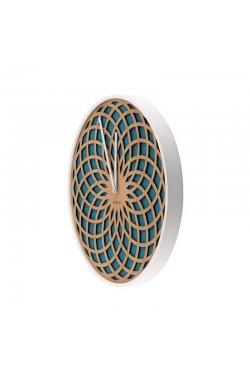 """Часы настенные """"Sun Small Turquoise"""" ?35 см - wws-653"""