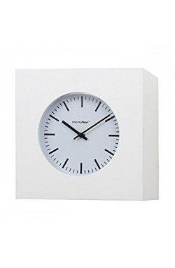 Часы настенные Balvi Qubo, белые - wws-3044