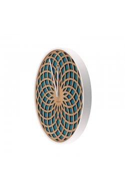 """Часы настенные """"Sun Large Turquoise"""" ?50 см - wws-5085"""
