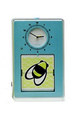 "Часы настенные ""Flip"", голубые 15х23 см - wws-5099"
