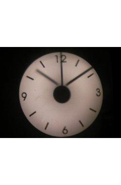 Часы проекционные прозрачные 18х18 см - wws-7131