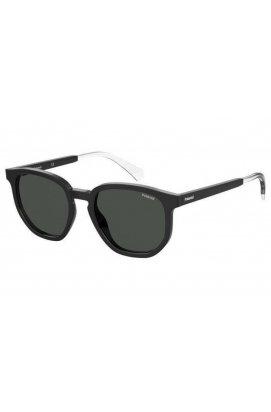 Солнцезащитные очки женские Polaroid PLD2095/S-807-M9 - квадратные, Цвет линз - серый
