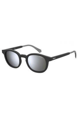 Солнцезащитные очки женские Polaroid PLD2096/S-003-EX - круглые;овальные, Цвет линз - серый
