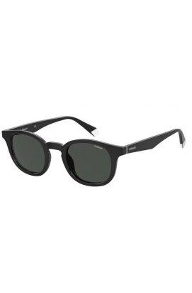 Солнцезащитные очки женские Polaroid PLD2103/S/X-807-M9 - круглые;овальные, Цвет линз - серый