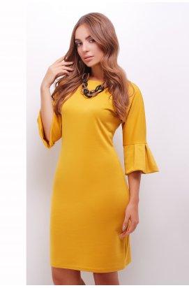 Платье 1846 горчичный цвет - Повседневное - Marse
