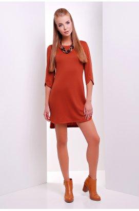 Платье 1873 кирпичный цвет - Повседневное - Marse