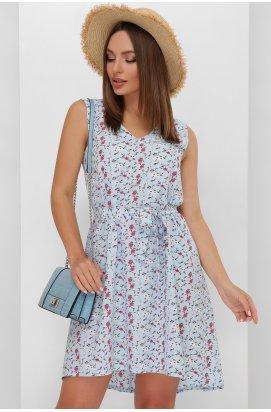 Платье 1889 голубой цвет - Повседневное - Marse