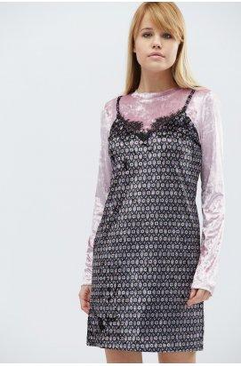 Платье Carica КР-10089-15 - Цвет Розовый